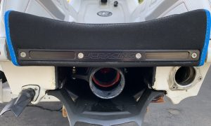 JCRACING REAR BUMPER PLATE