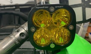 Kawasaki KRX1000 FRONT A-PILLAR LIGHT POD BRACKETS